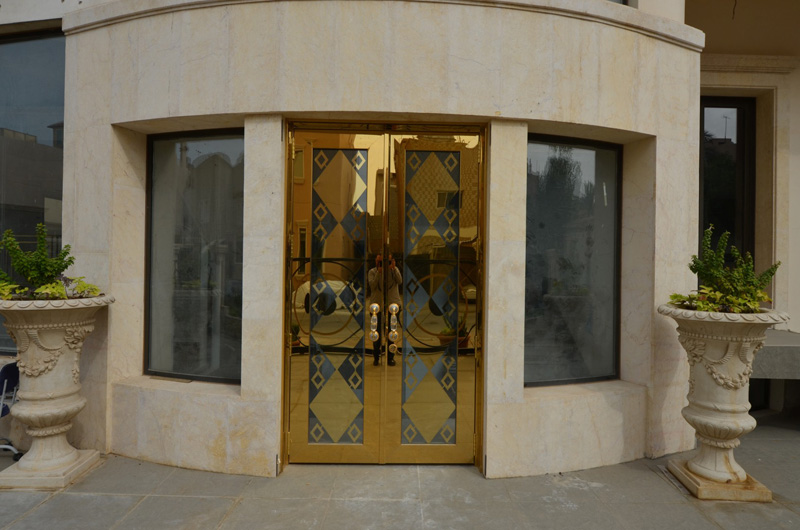 Main Doors (Brass & Bronze)