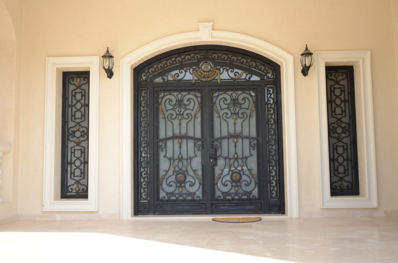 Main Doors (Wrought Iron)